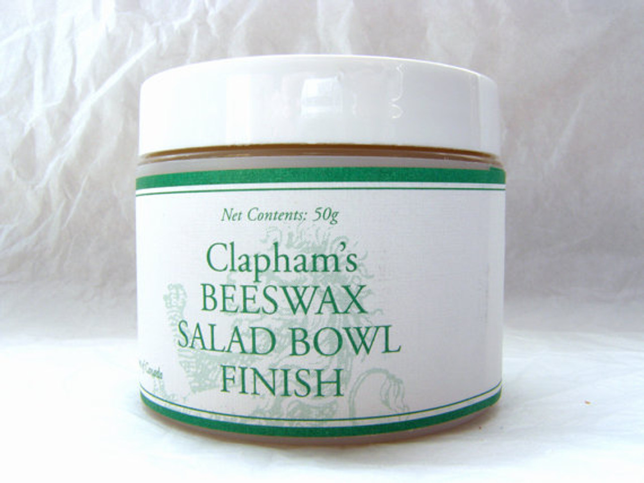 CLAPHAM'S BEESWAX SALAD BOWL FINISH