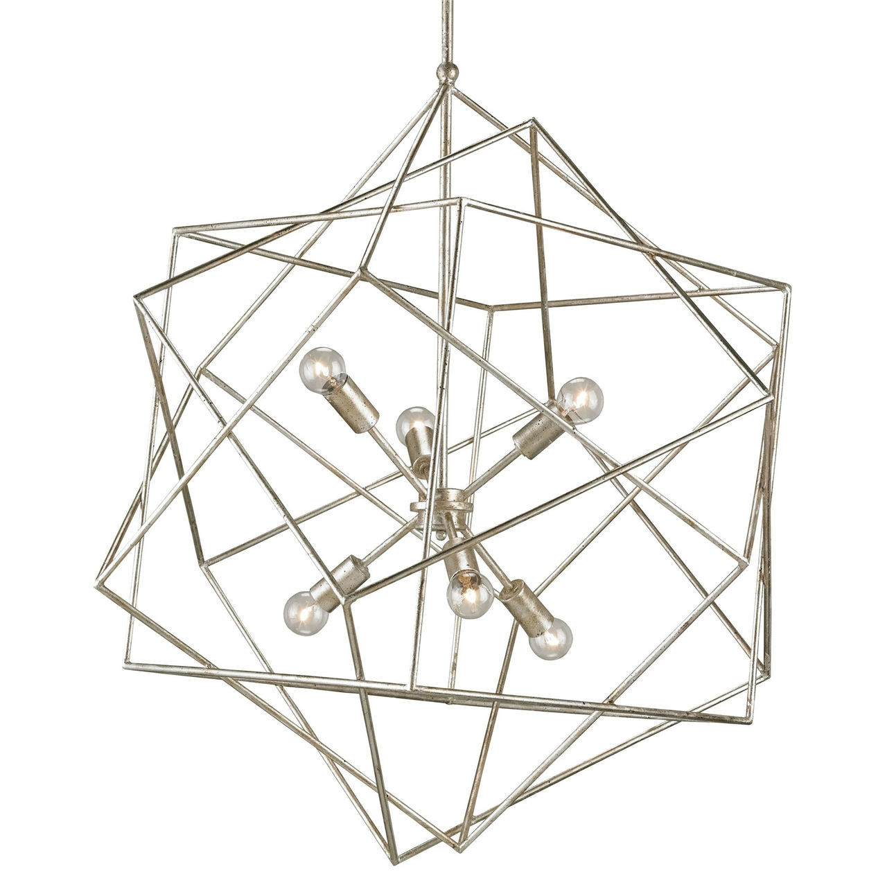 AERIAL CHANDELIER - SILVER