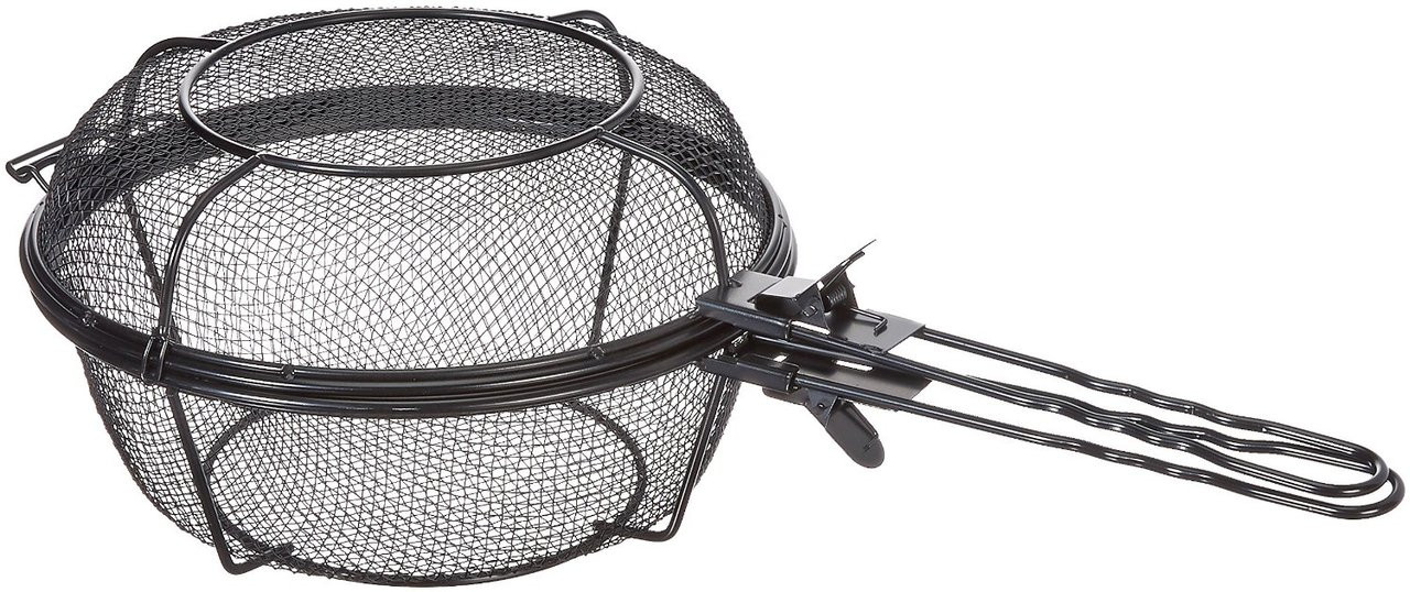 OUTSET JUMBO GRILL BASKET AND SKILLET