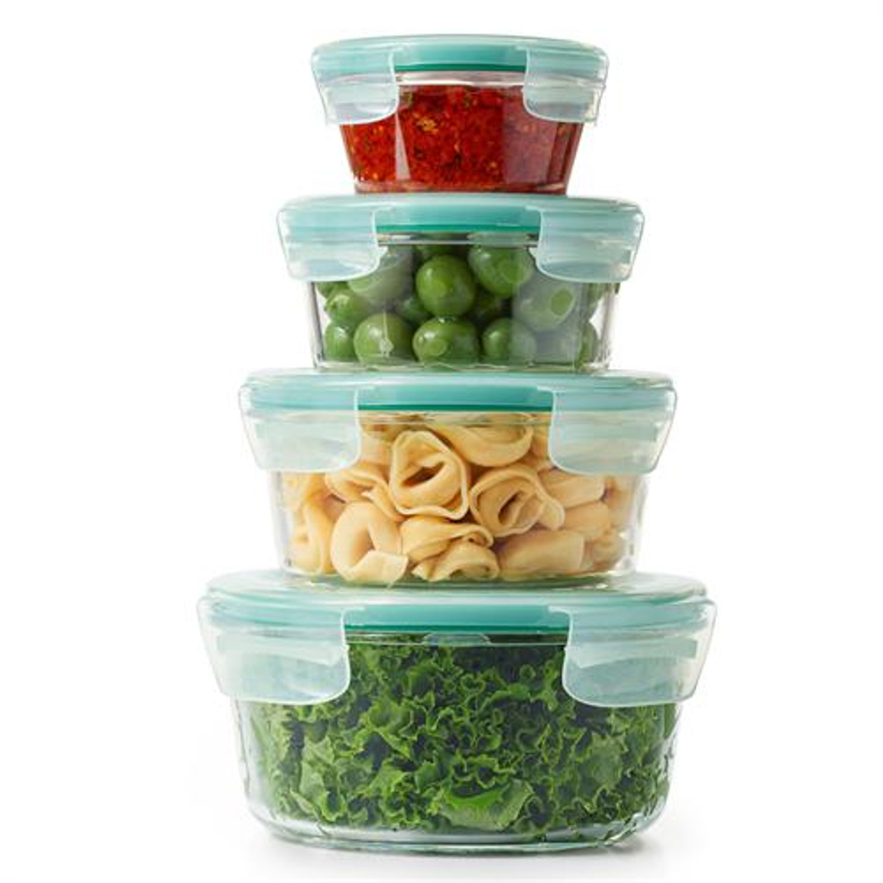 OXO SNAP GLASS CONTAINER SET 8PC