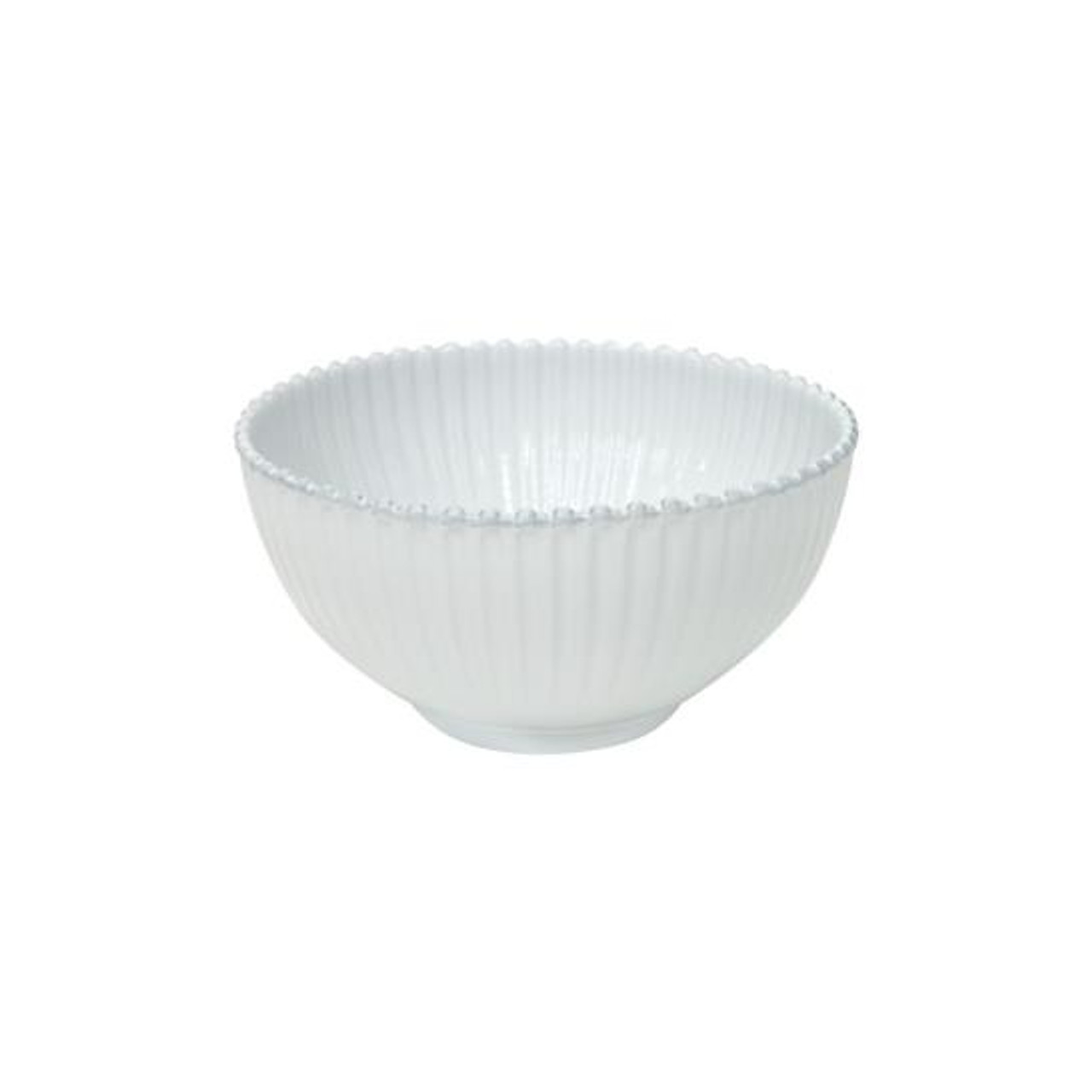 PEARL SALAD BOWL 27cm - WHITE