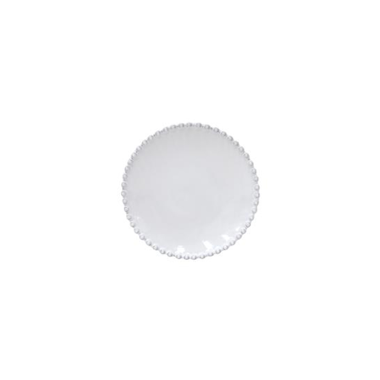 PEARL DINNER PLATE 28cm - WHITE