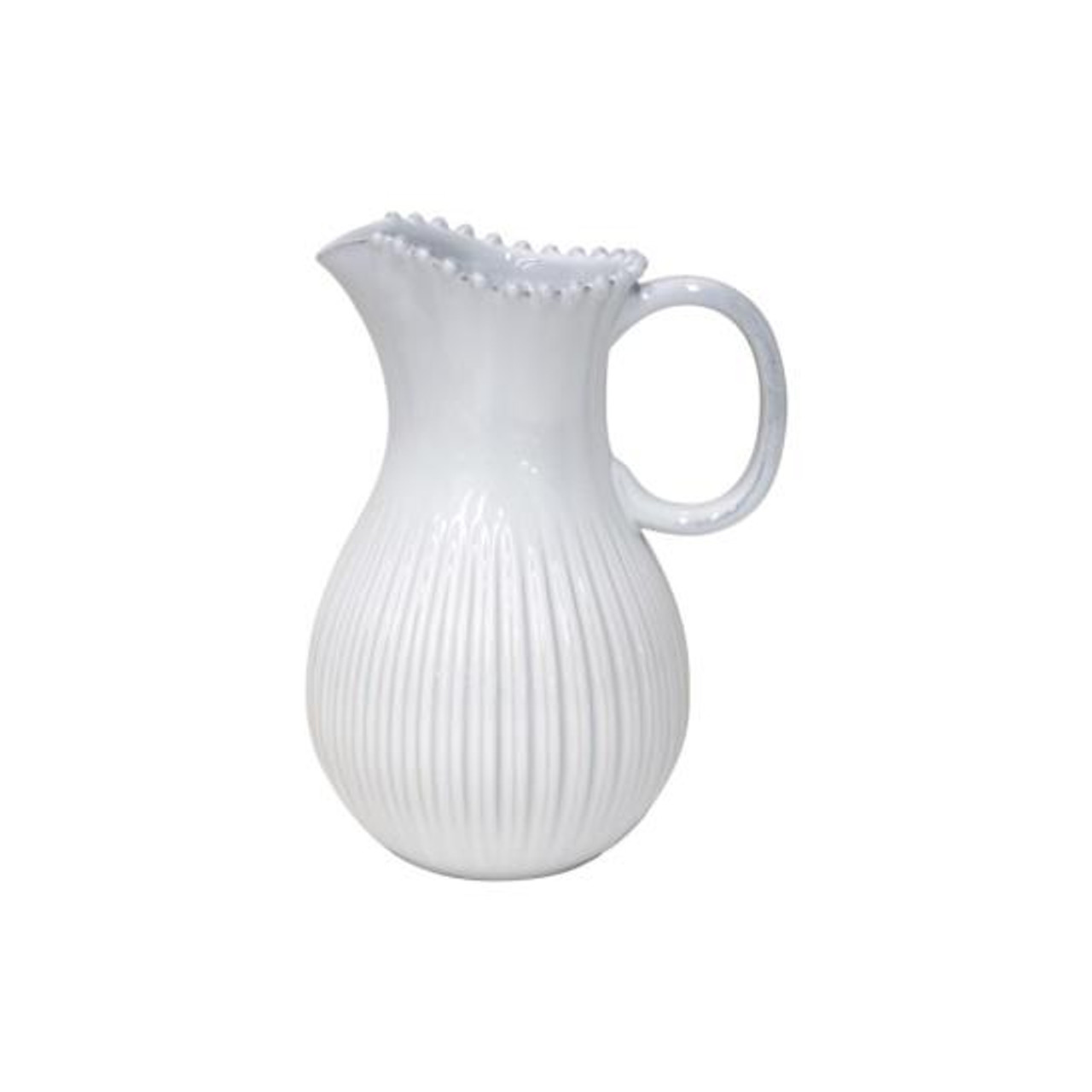 PEARL PITCHER 2L - WHITE