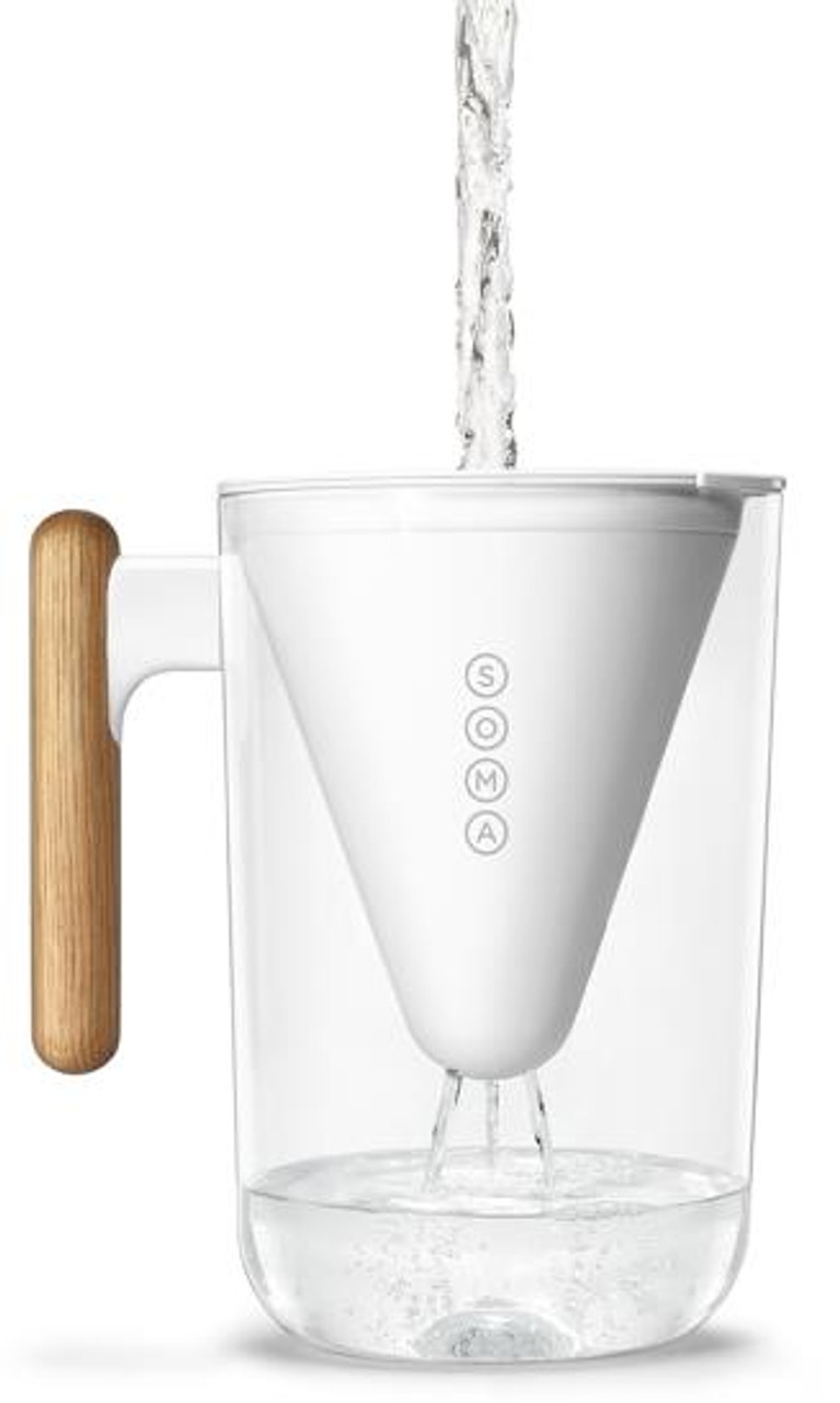 SOMA PITCHER WHITE - 6 CUP