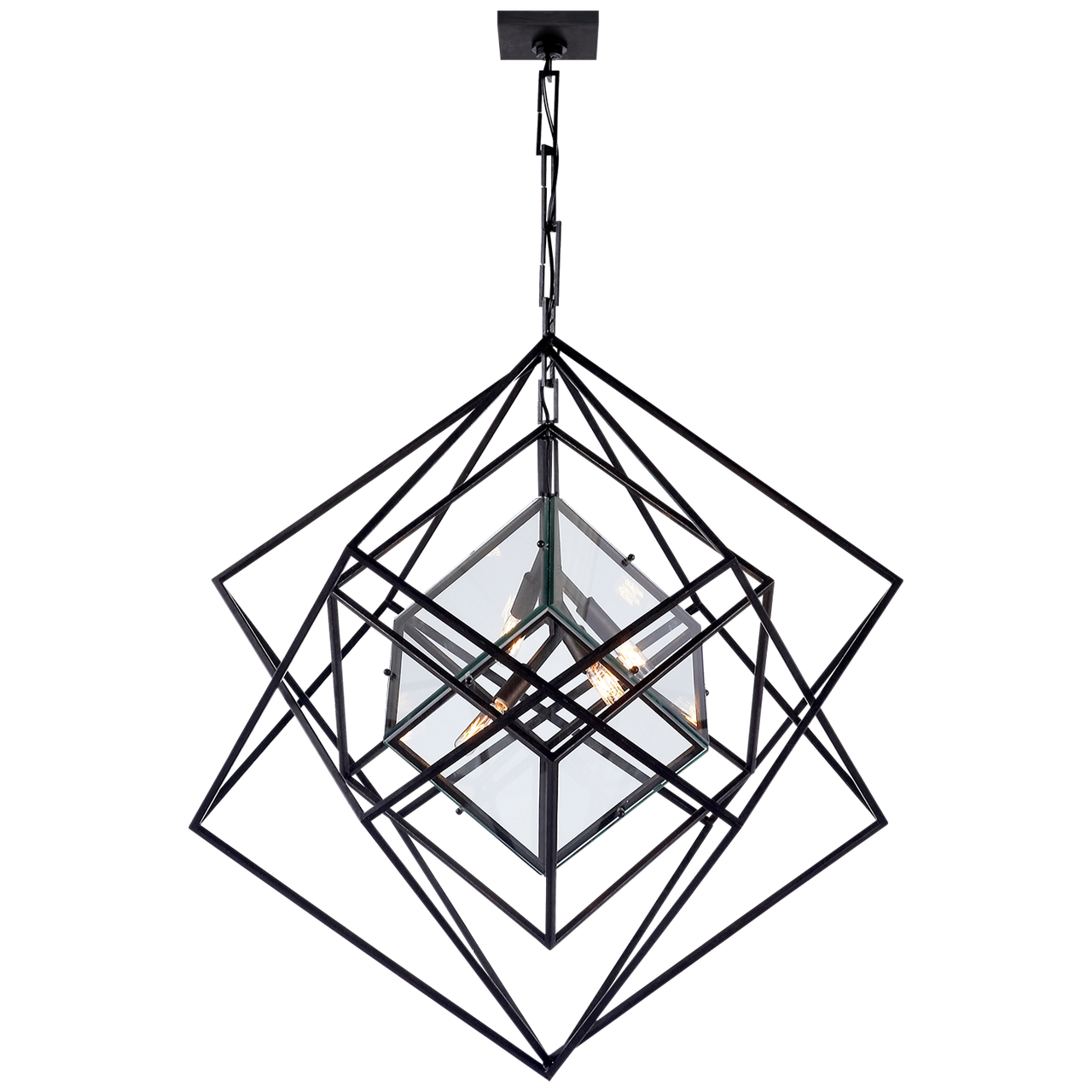CUBIST CHANDELIER MEDIUM