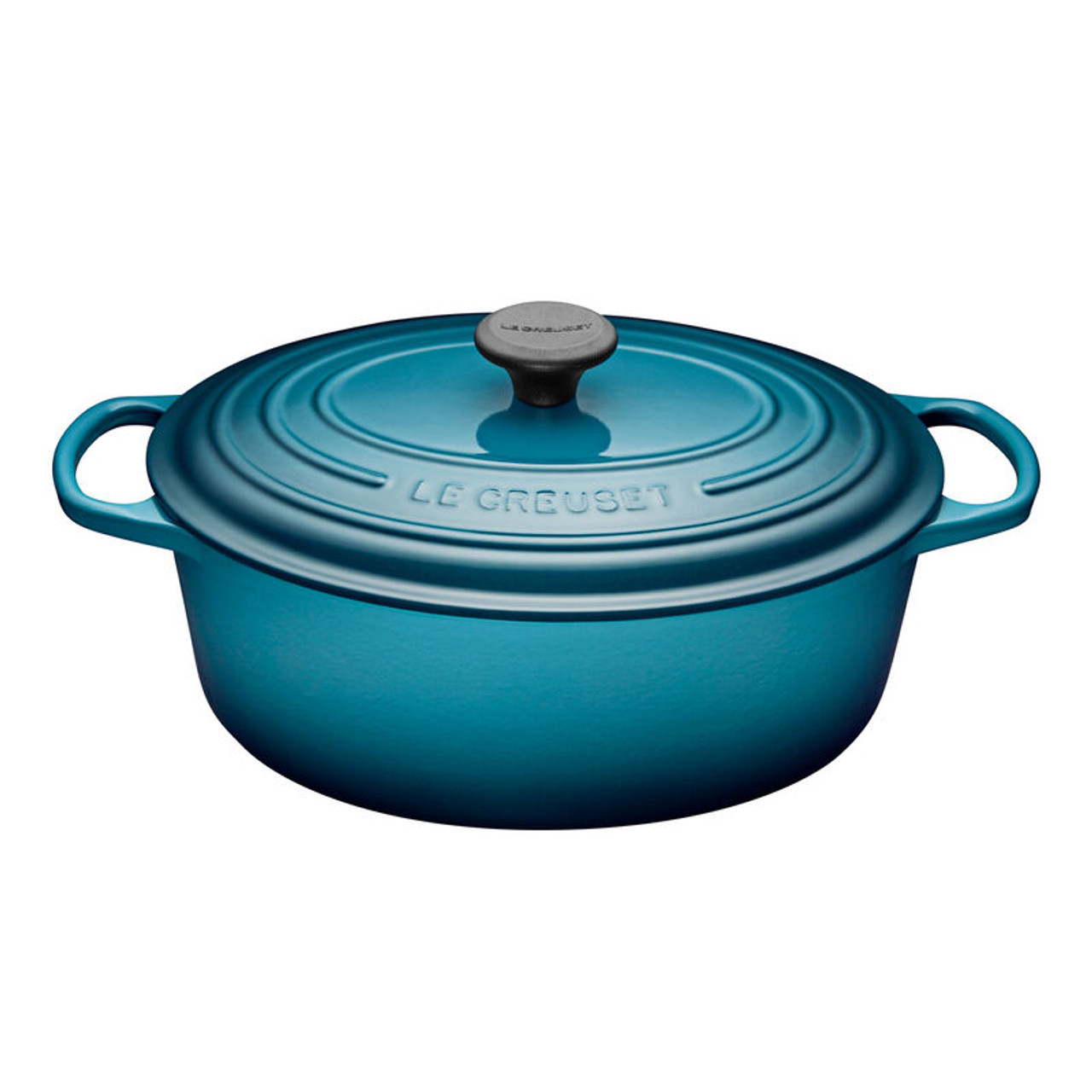 LE CREUSET OVAL FRENCH OVEN 6.3L