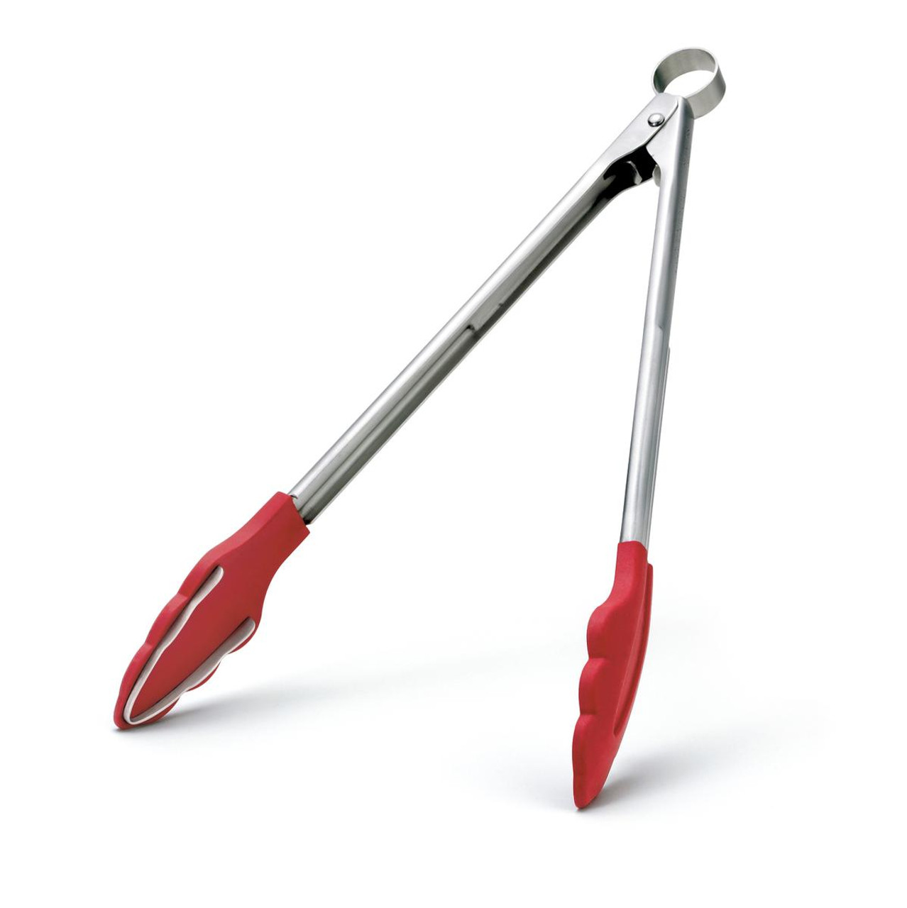 """CUISIPRO SILICONE TONGS WITH TEETH - 9.5"""""""