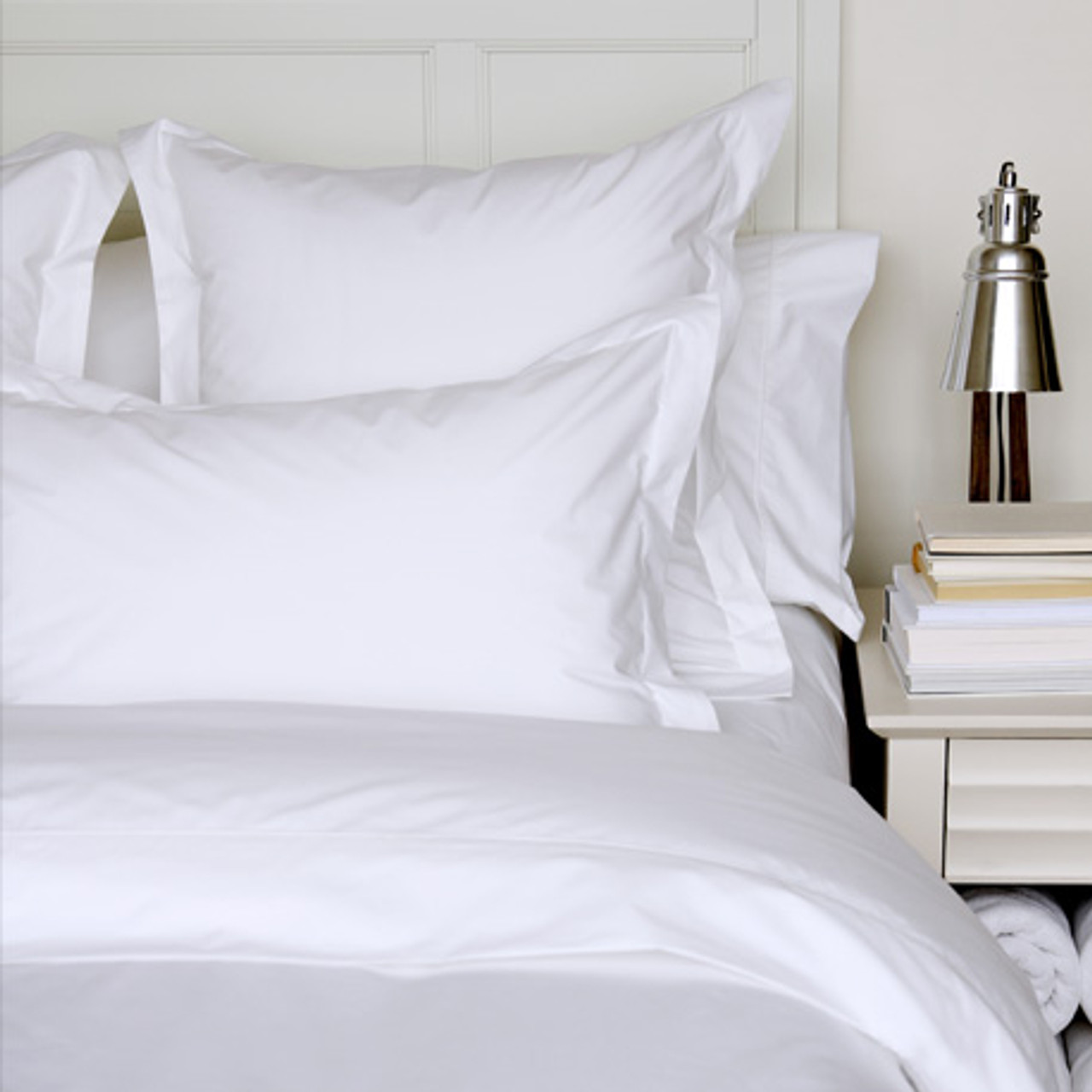 PERCALE DELUXE FLAT SHEET