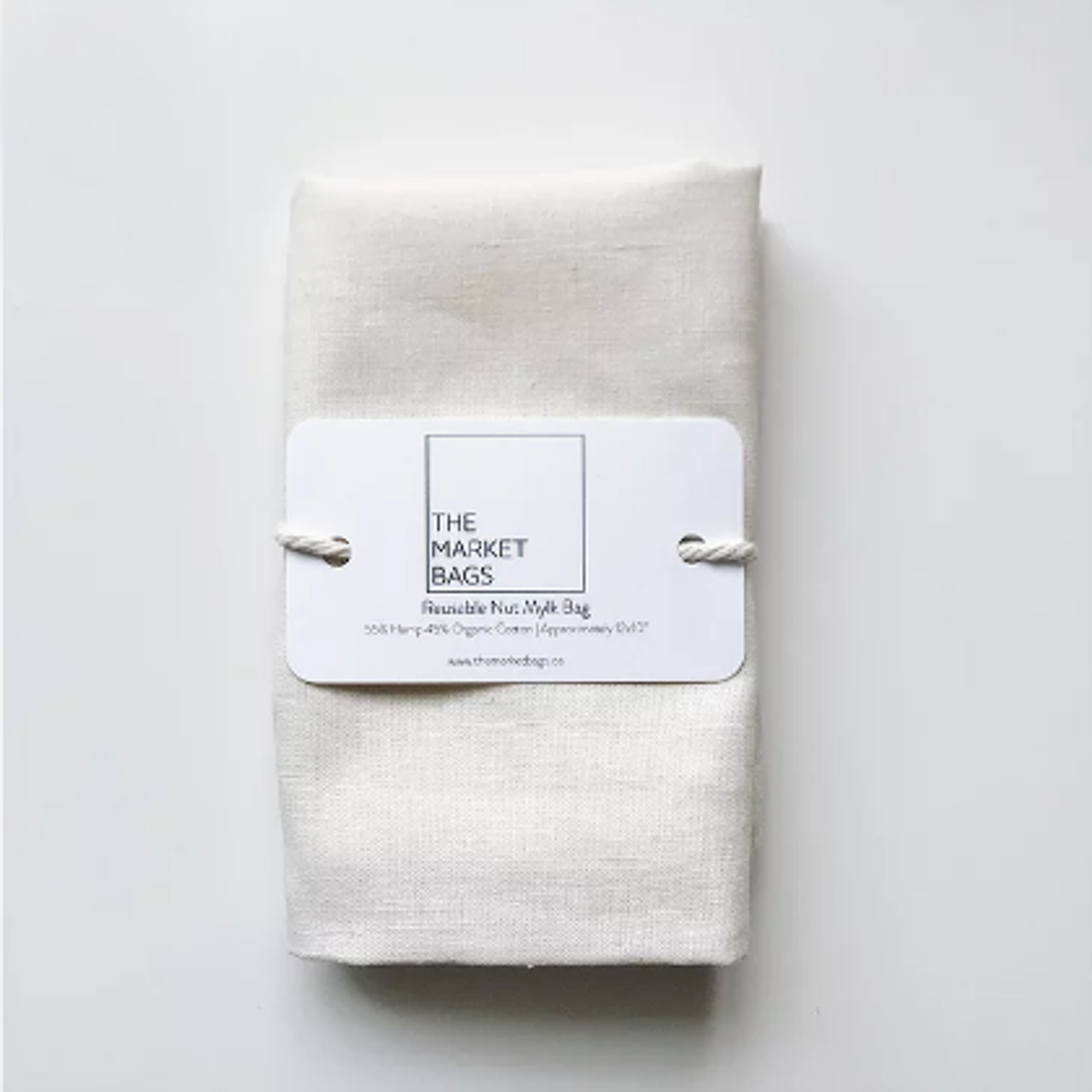 NUT MYLK BAG - HEMP