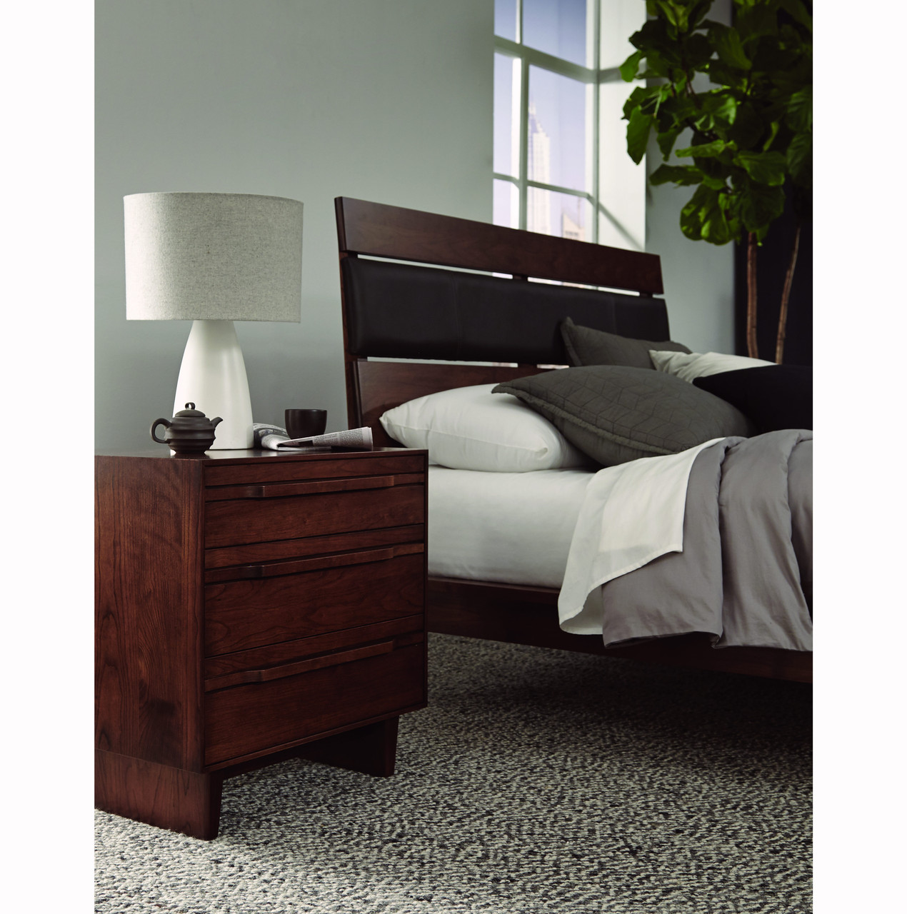 CAMBER UPHOLSTERED BED