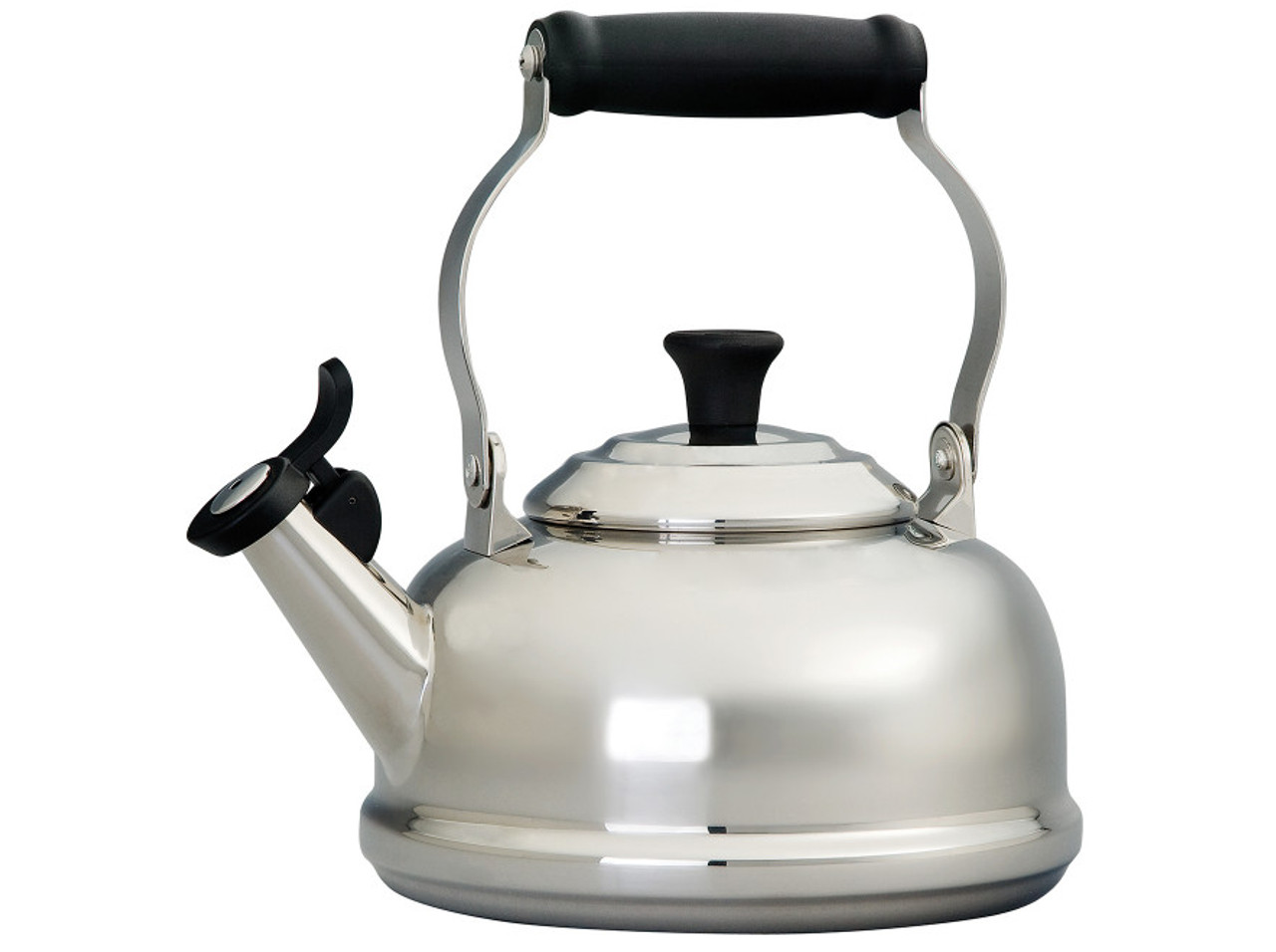 LE CREUSET CLASSIC WHISTLING KETTLE Stainless Steel