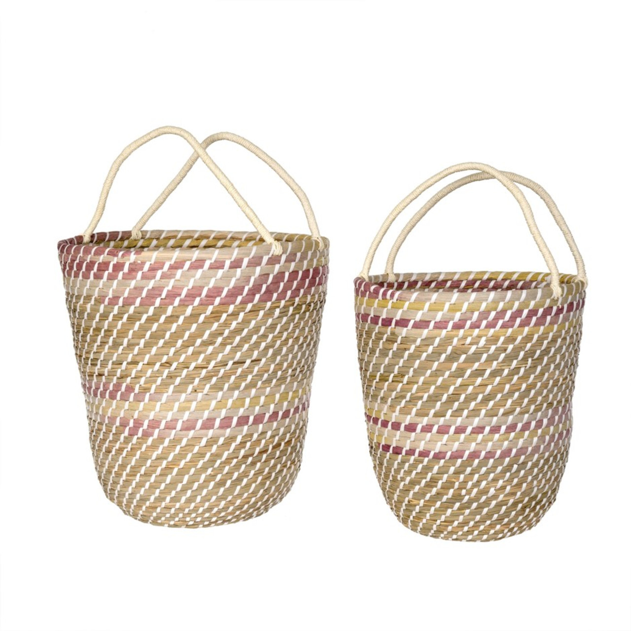 BASKET SET - SUNSET OMBRE