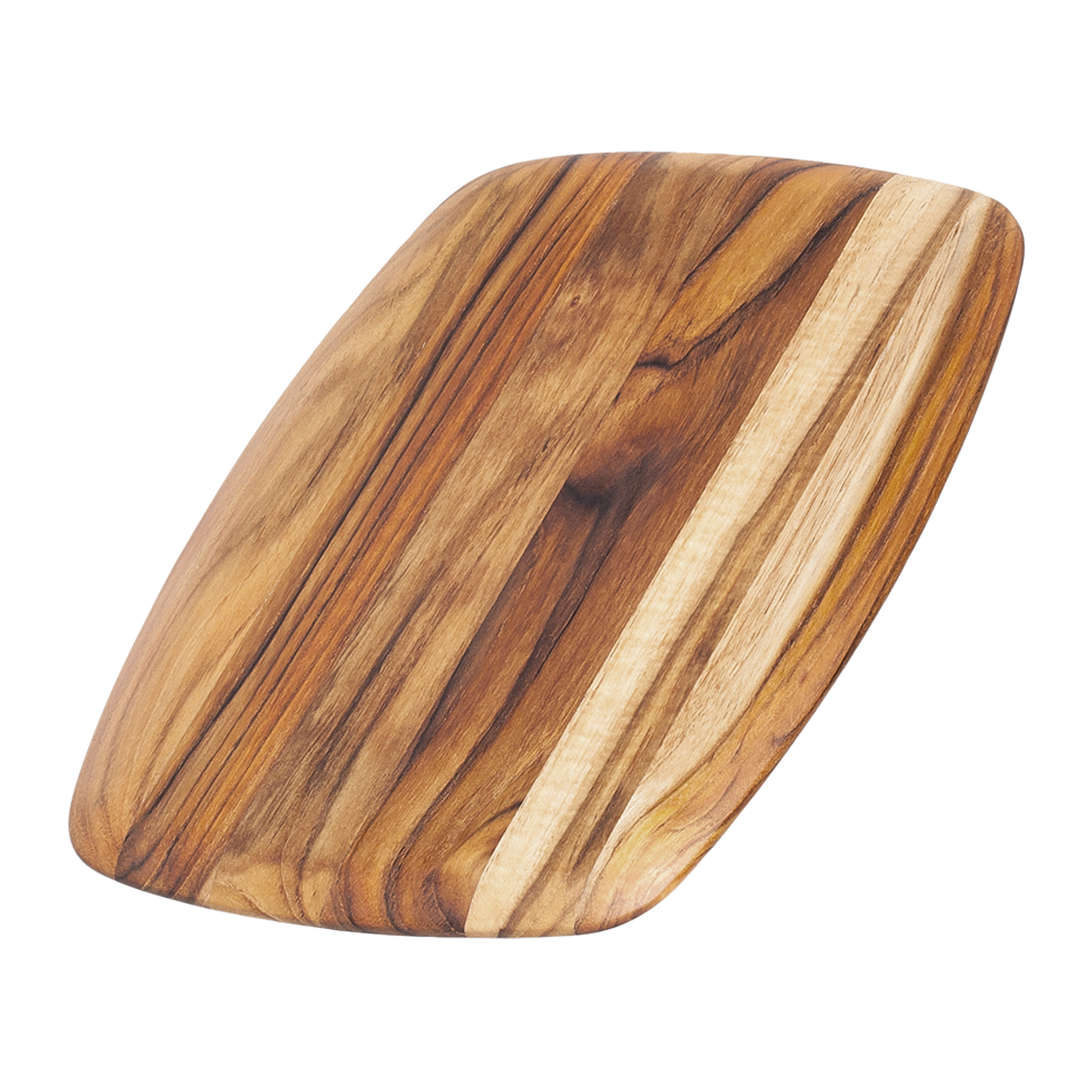 TEAKHAUS ROUNDED EDGE CUTTING BOARD 12x8.5