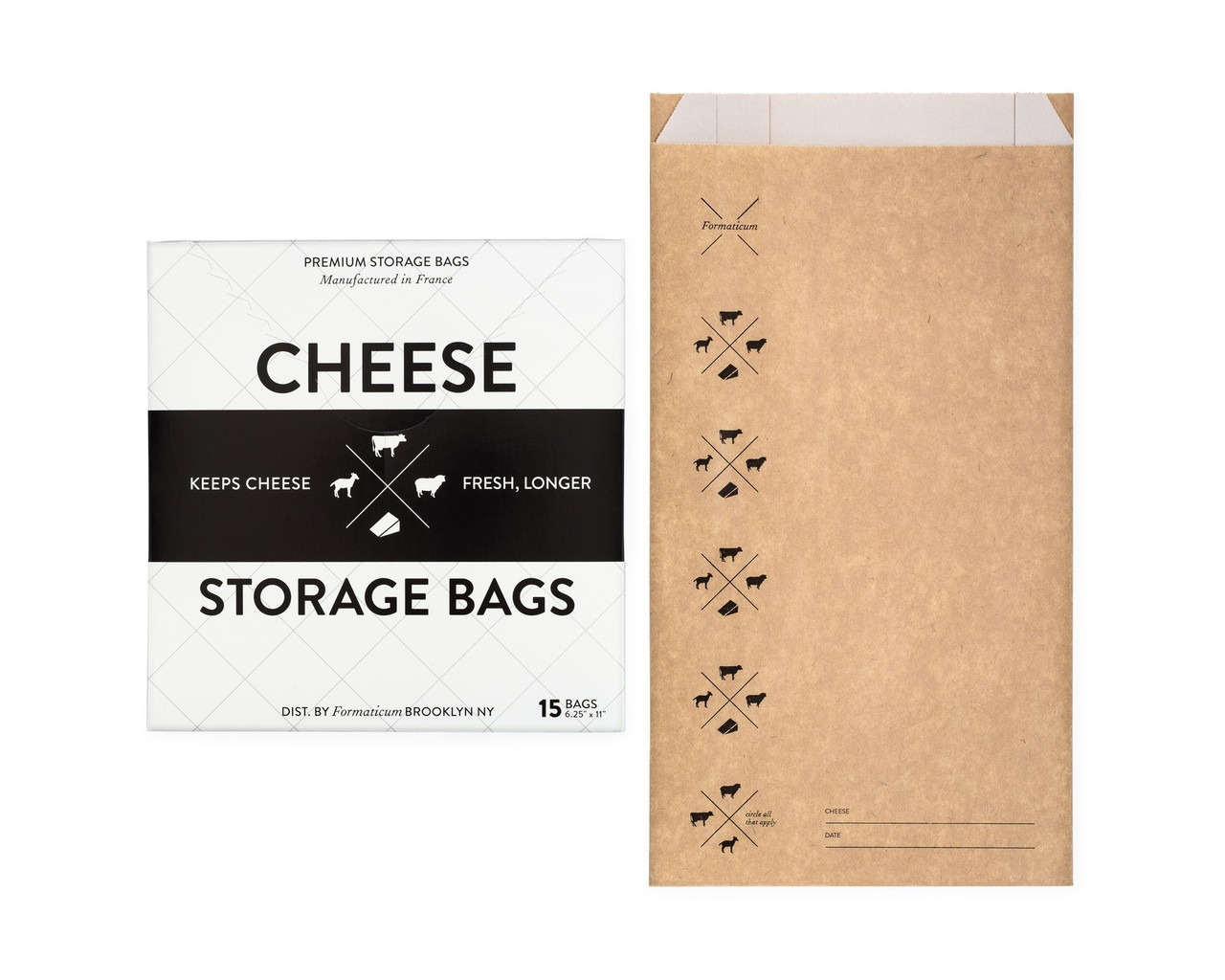 CHEESE STORAGE BAGS - 15PK