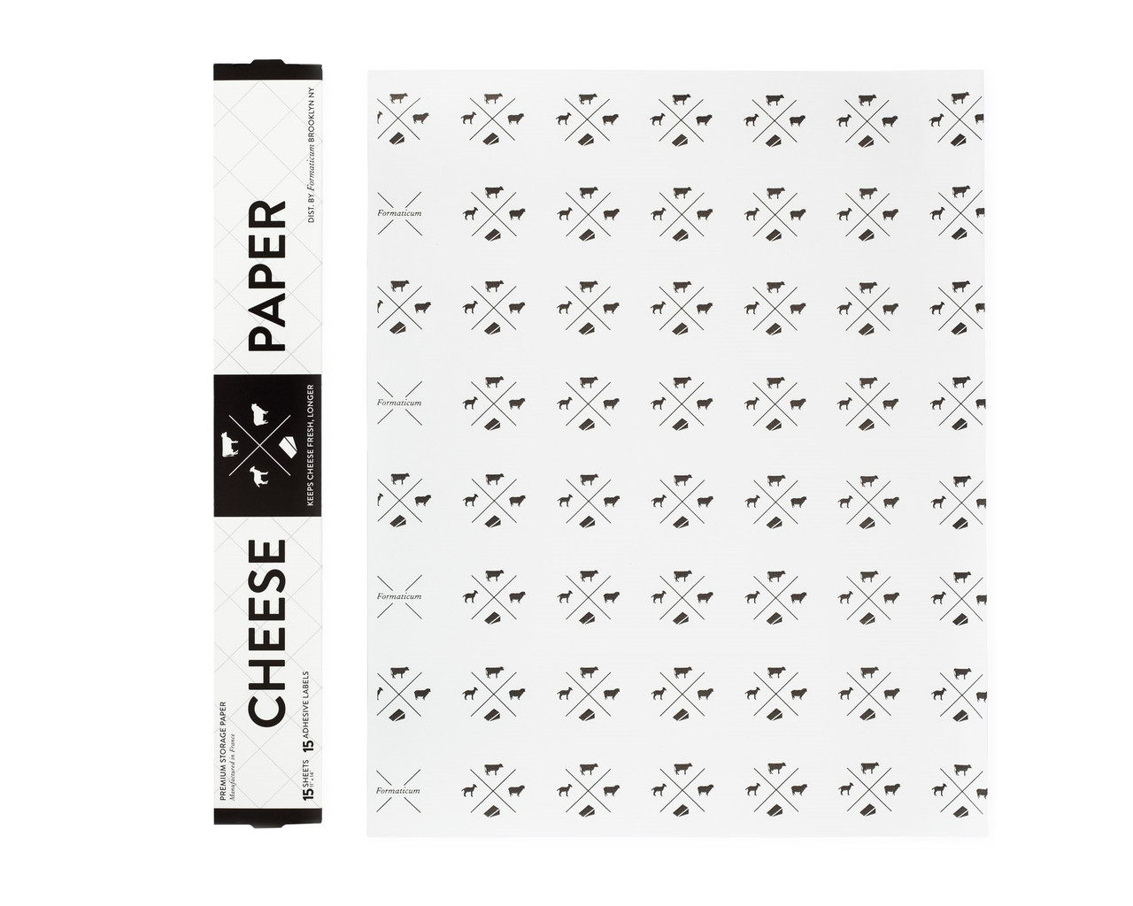 CHEESE STORAGE PAPER - 15PK