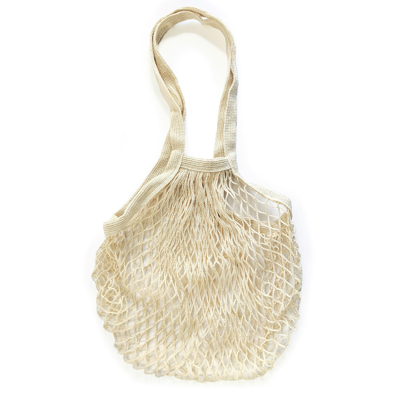KITCHENBASICS MESH SHOPPING BAG - NATURAL