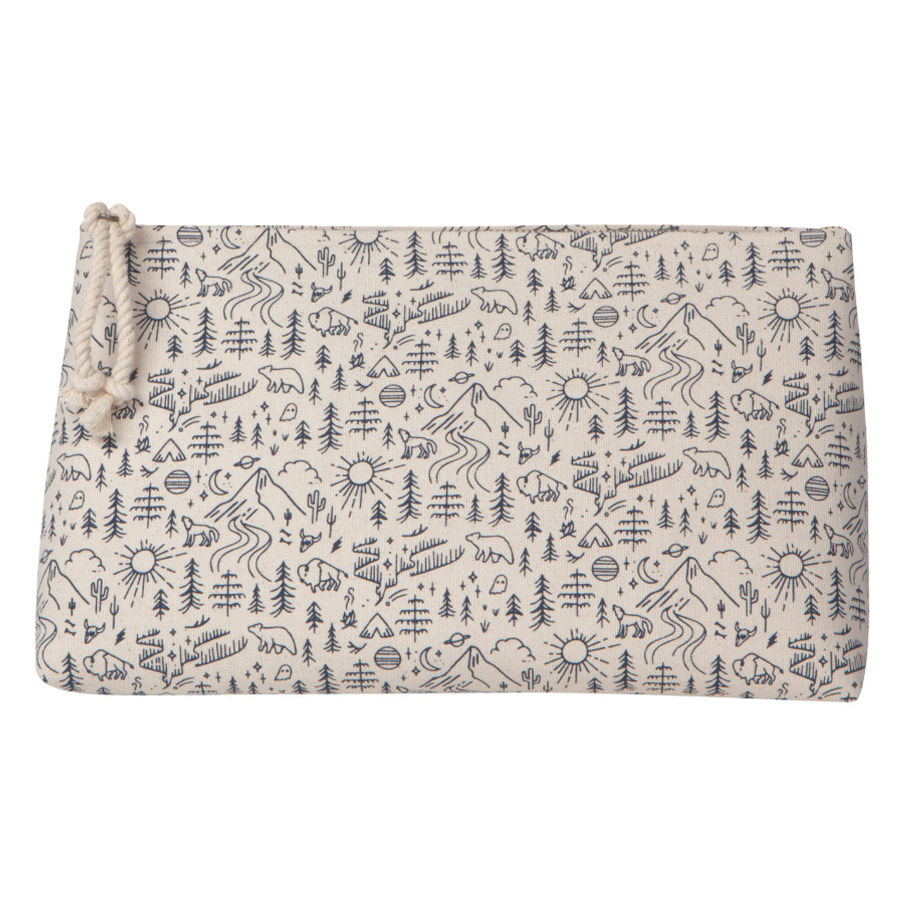 COSMETIC BAG LARGE - STAY WILD