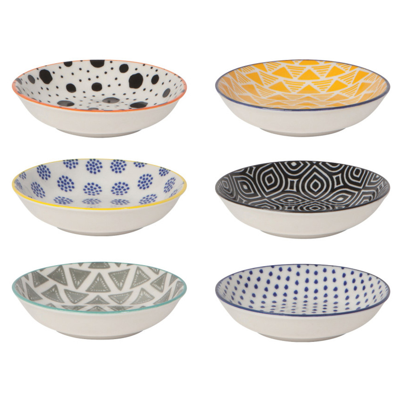 STAMPED PINCH BOWL - BITS & DOTS SET
