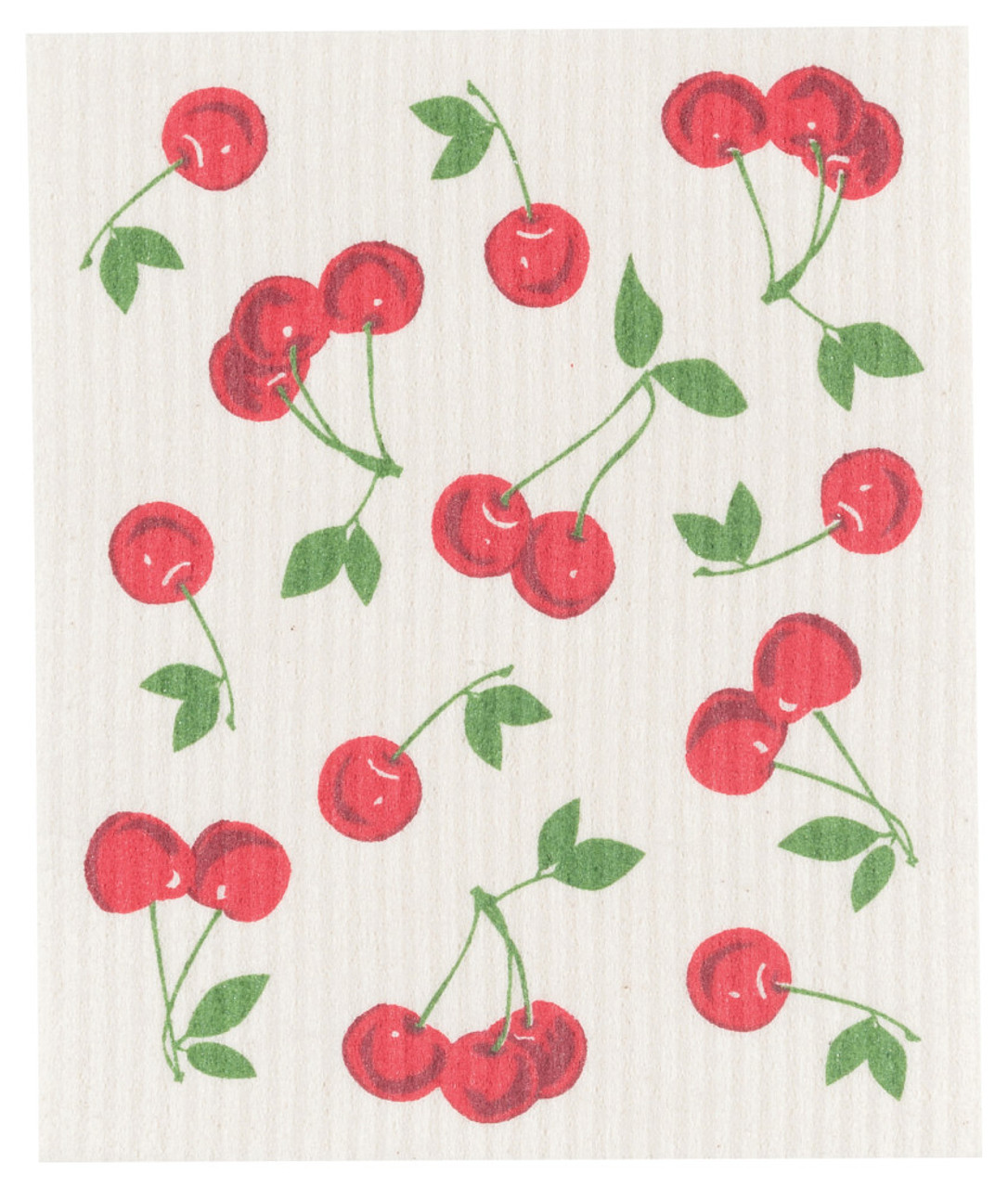 SWEDISH DISH CLOTH - CHERRIES