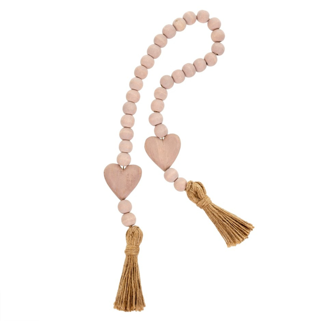 HEART BLESSING BEADS - PINK