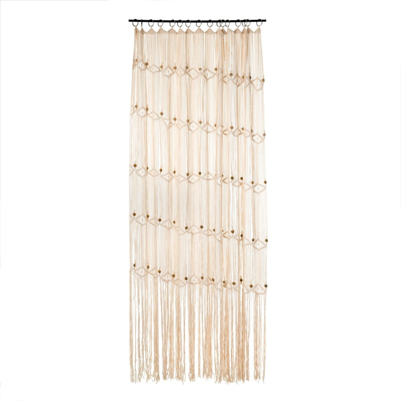 HAND KNITTED CURTAIN