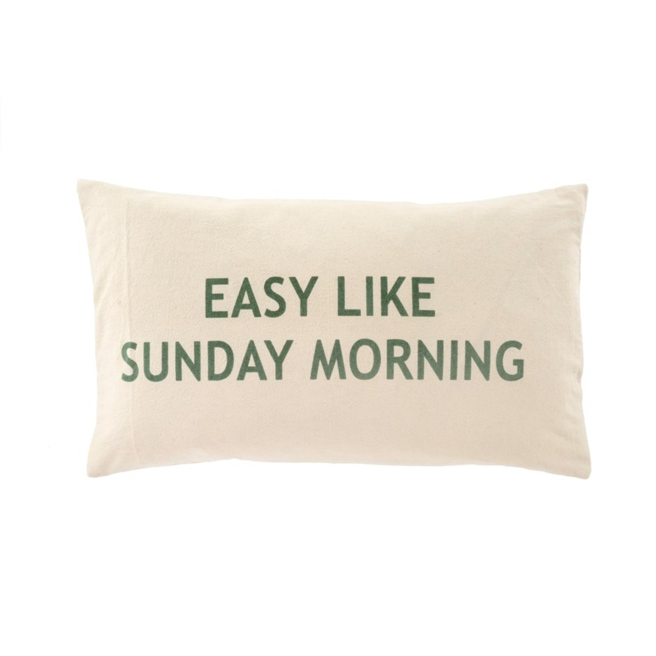SUNDAY MORNING  CUSHION