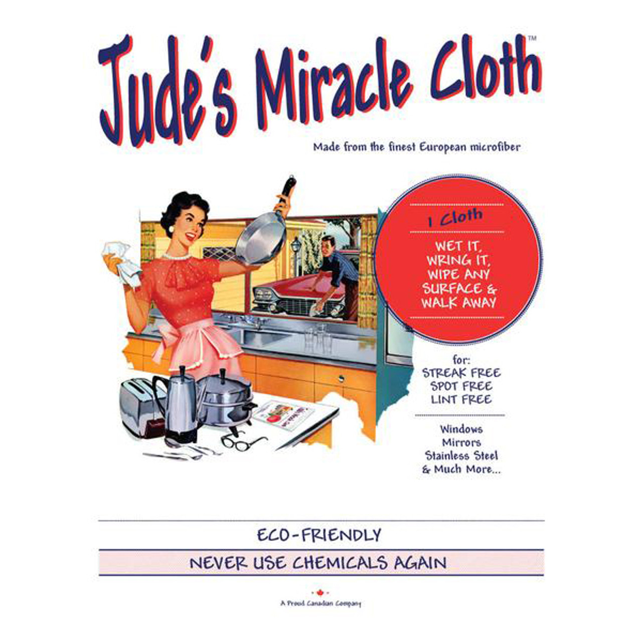 JUDE'S MIRACLE CLOTH - SINGLE