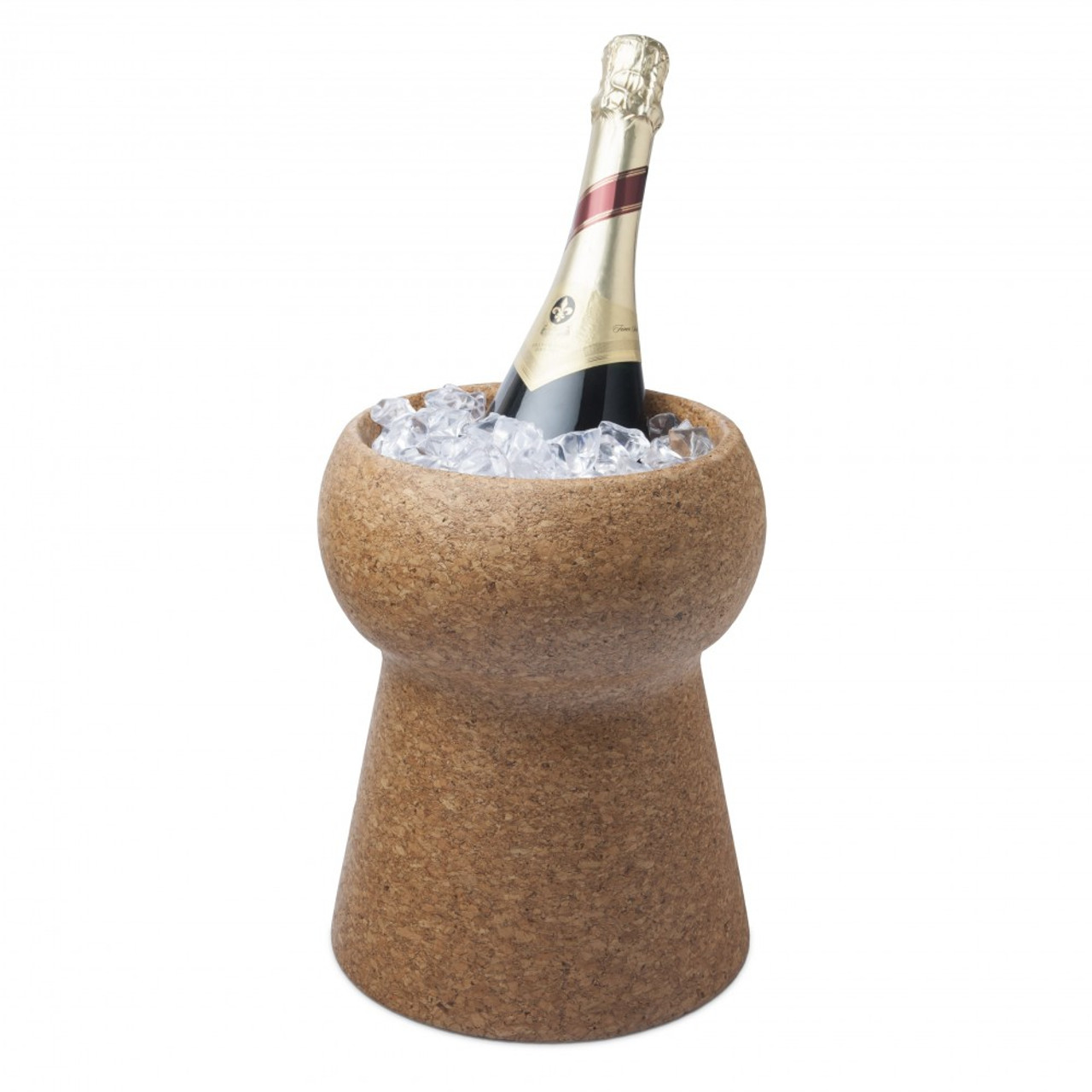 FINAL TOUCH CHAMPAGNE & WINE CORK BEVERAGE BIN