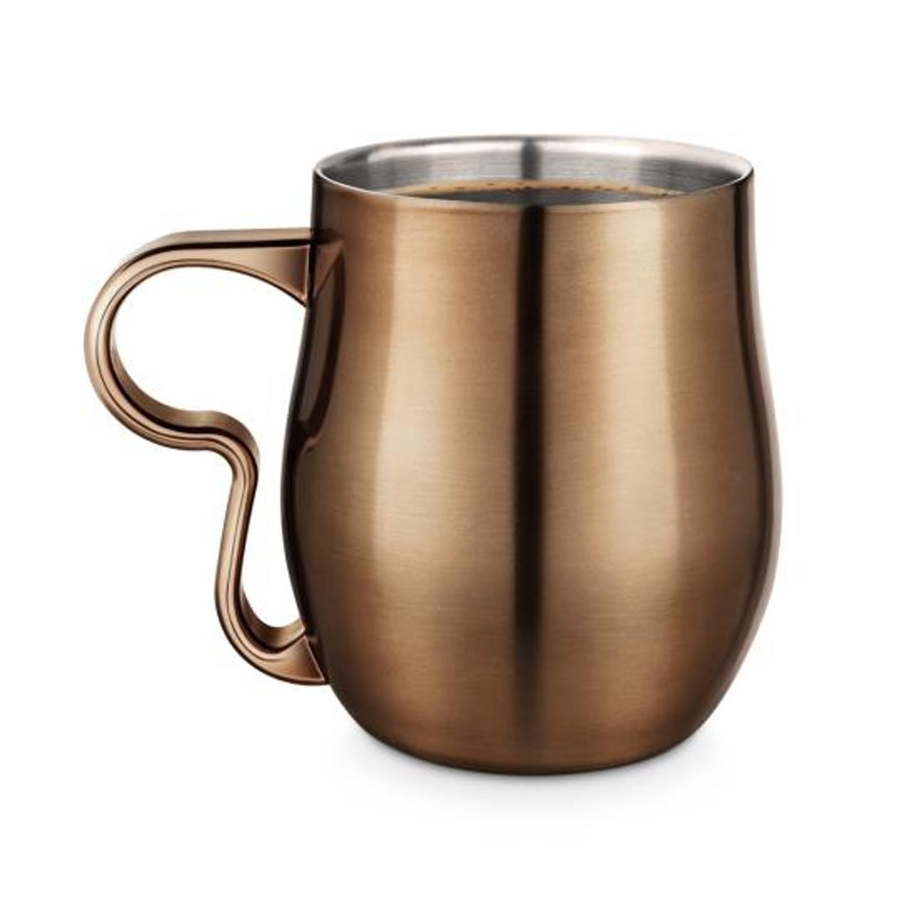 FINAL TOUCH DOUBLE-WALL MUG - COPPER