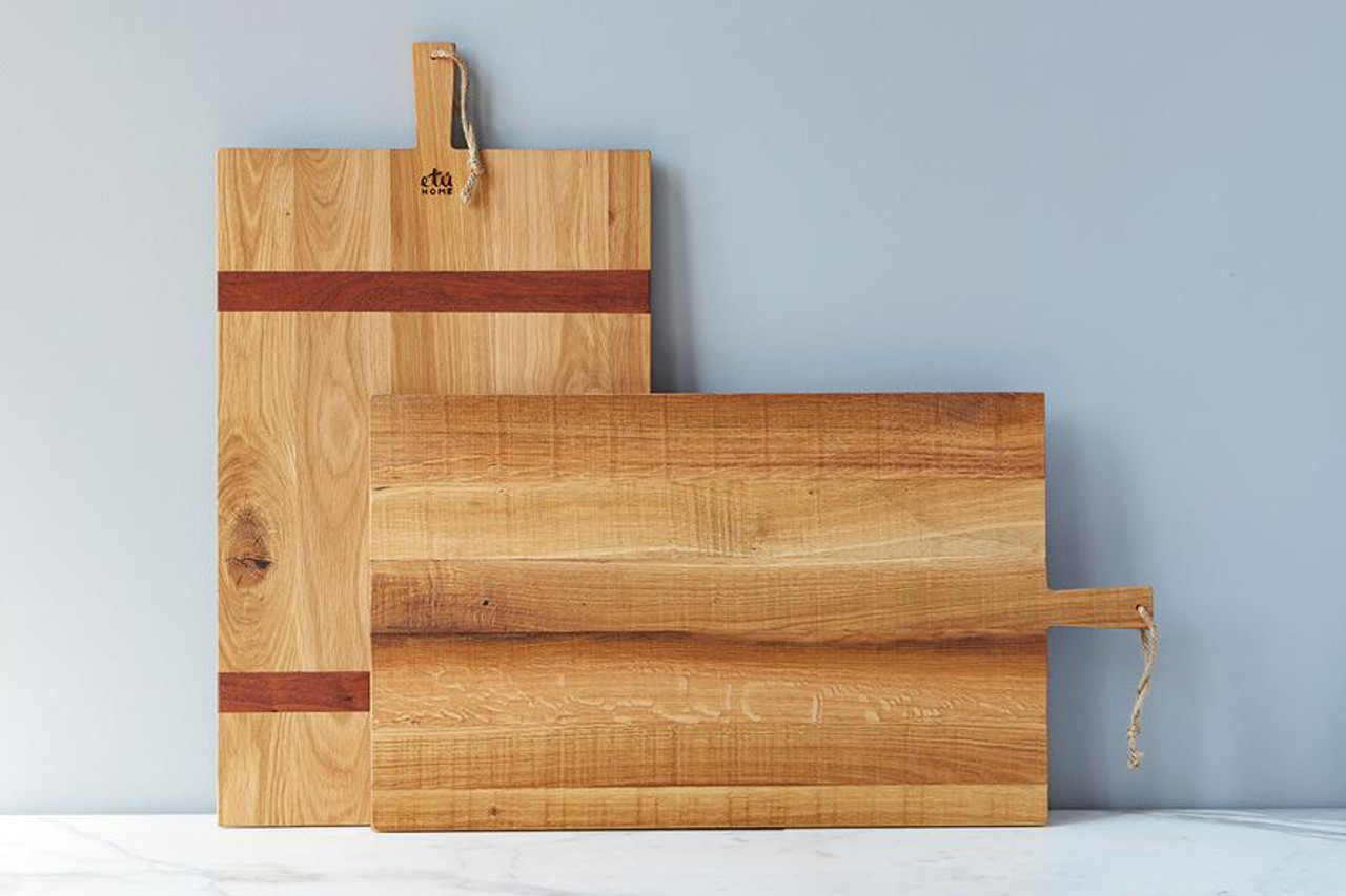 CHARCUTERIE BOARD - RECTANGLE OAK LARGE