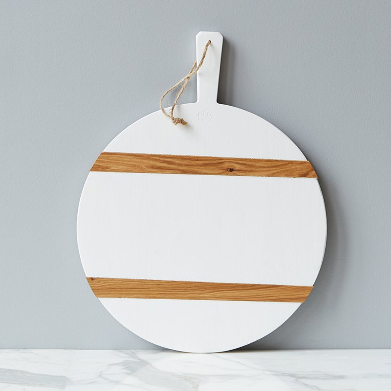 CHARCUTERIE BOARD - MOD WHITE ROUND MEDIUM