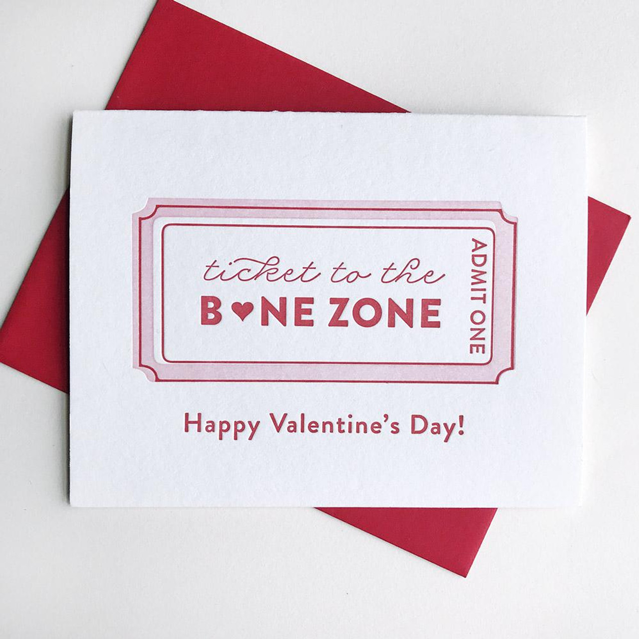 VALENTINES - BONE ZONE