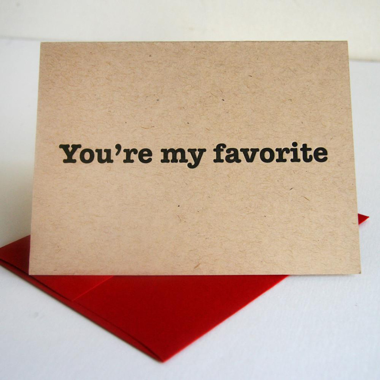 VALENTINES - YOUR MY FAVORITE