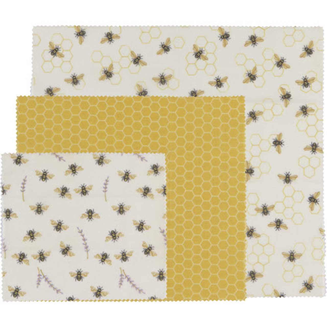 BEESWAX WRAP - BEES SET 3
