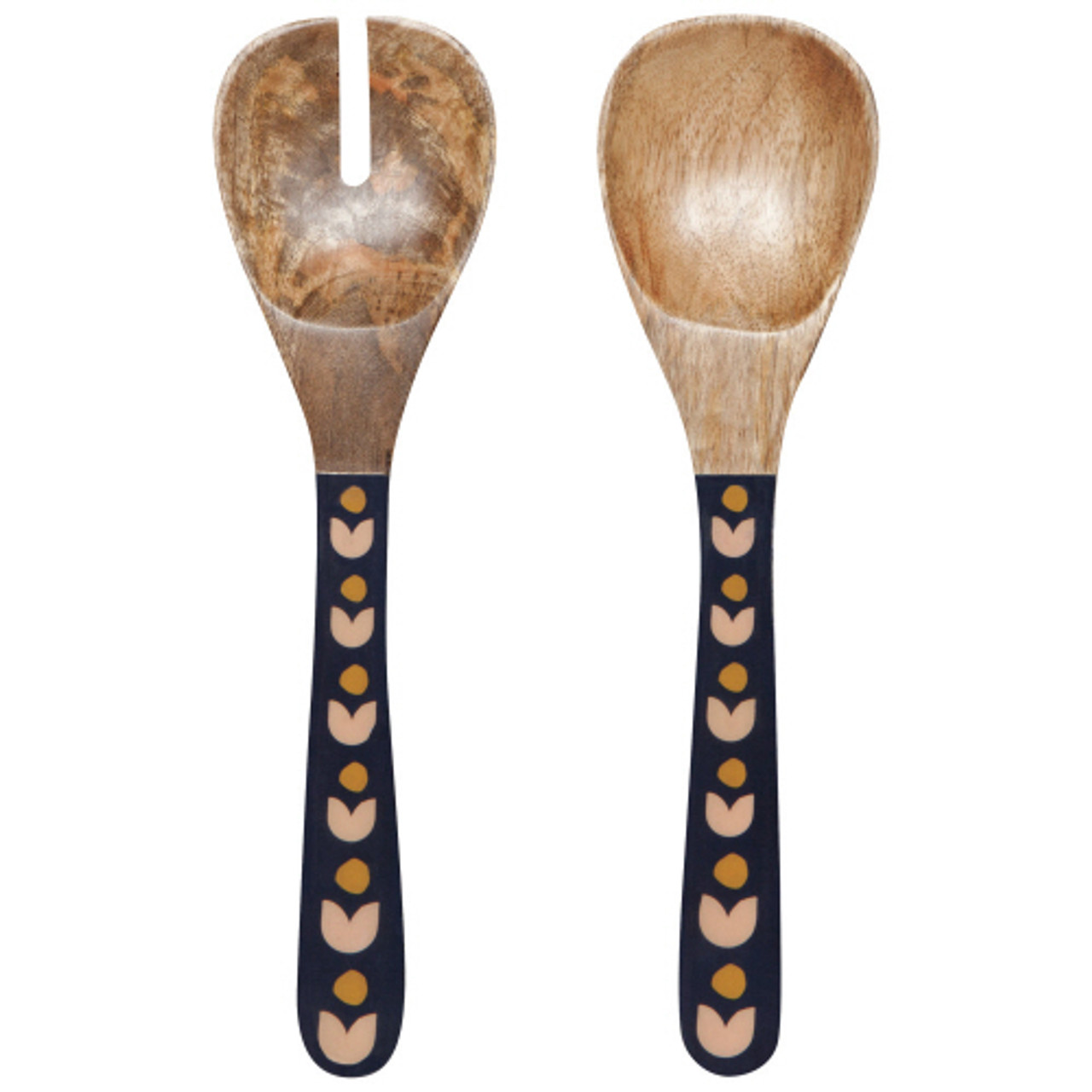 MANGO WOODEN SALAD SERVERS - SUPERBLOOM