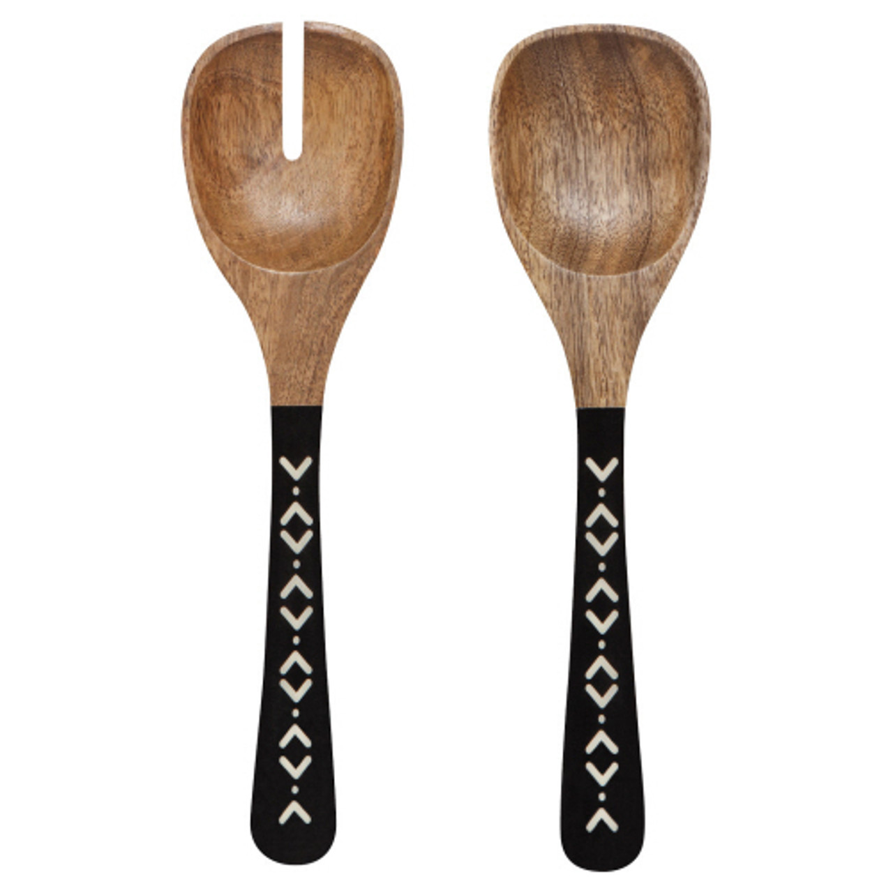MANGO WOODEN SALAD SERVERS - ZIGGY