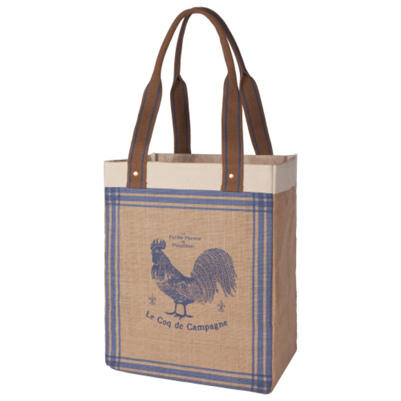 MARKET TOTE - ROOSTER FRANCAISE