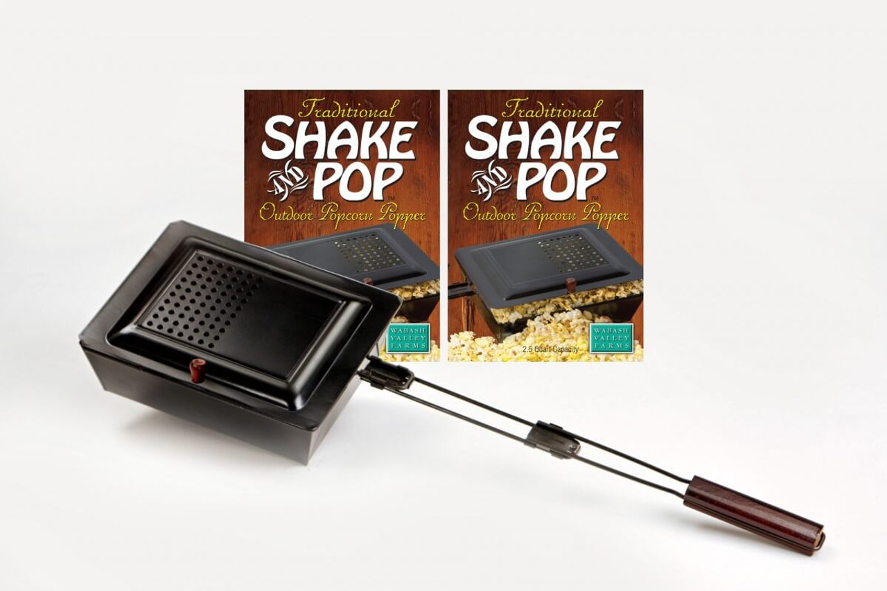 WHIRLEY-POP TRADITIONAL SHAKE & POP OUTDOOR POPPER