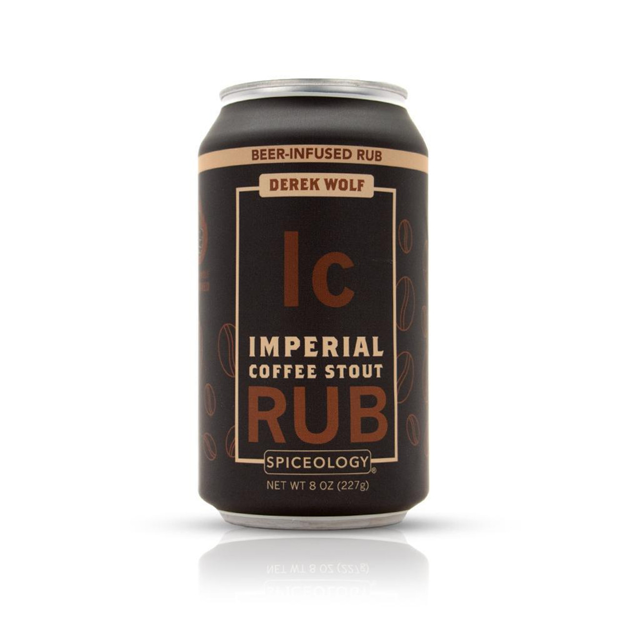 SPICEOLOGY BEER INFUSED RUB - IMPERIAL COFFEE STOUT RUB