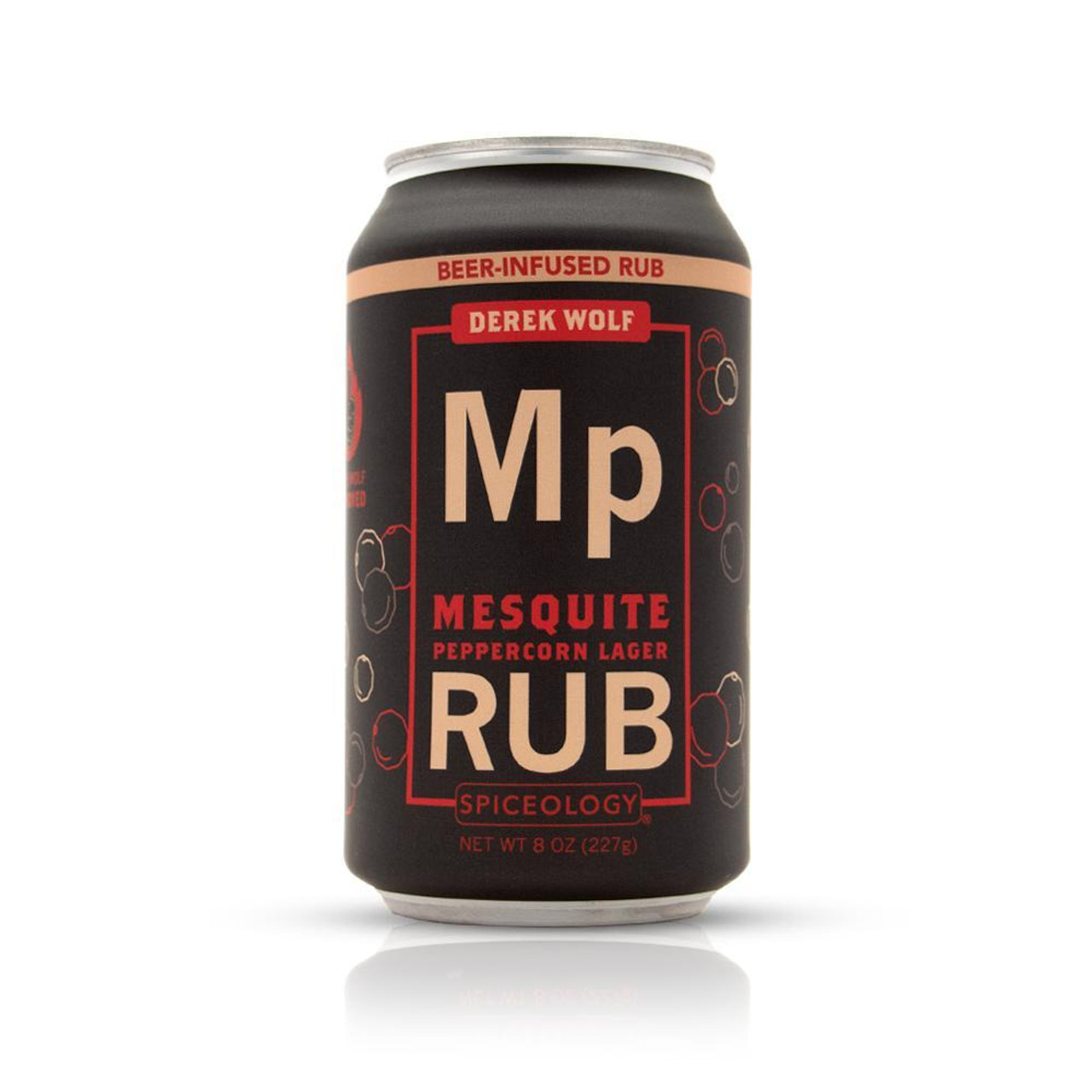 SPICEOLOGY BEER INFUSED RUB - MESQUITE PEPPERCORN LAGER RUB