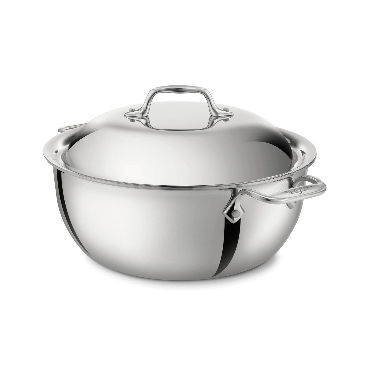 ALL-CLAD STAINLESS DUTCH OVEN 5.5QT