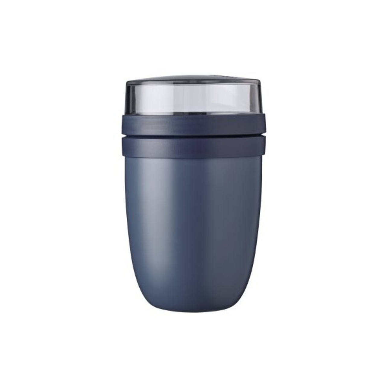 Nordic Denim Insulated Lunch Pot