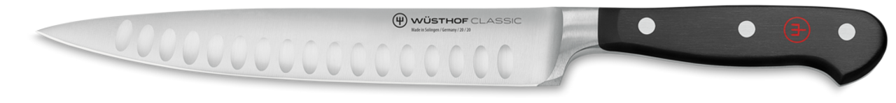 """WUSTHOF - CLASSIC - CARVING KNIFE 9"""" - HOLLOW GR."""