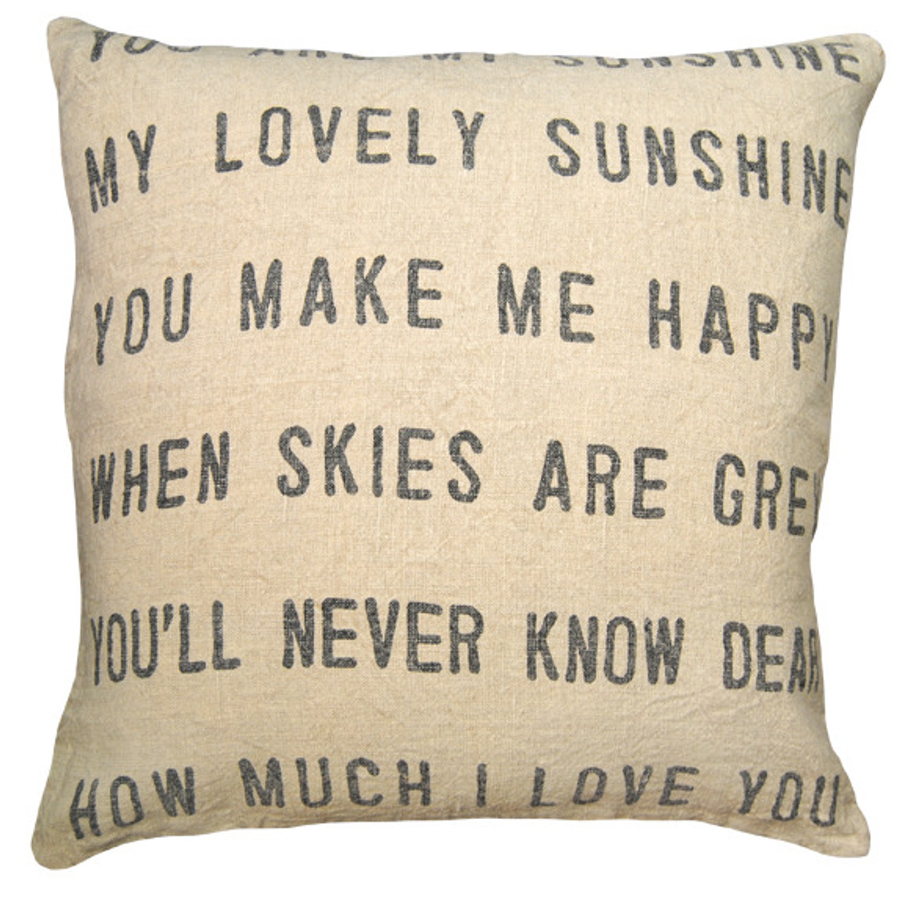PILLOW COLLECTION - YOU ARE MY SUNSHINE