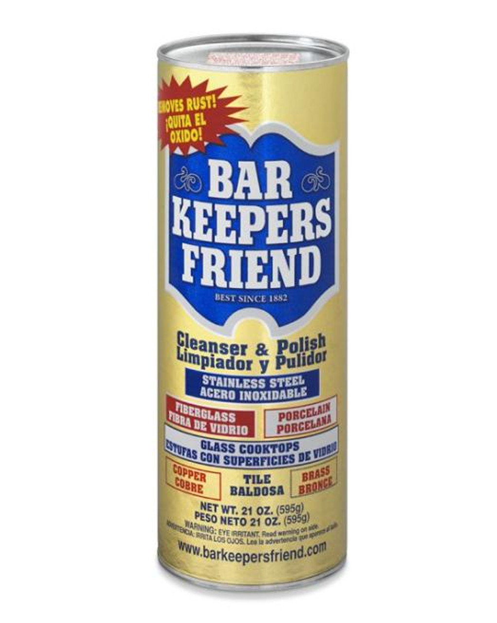 BARKEEPERS FRIEND CLEANSER - 12 oz