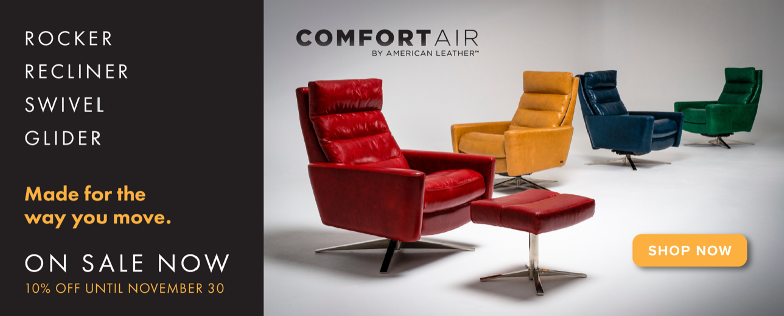 American Leather Comfort Air Sale - November 2020