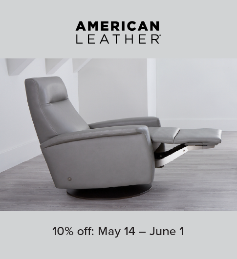 American Leather Recliner Promotion