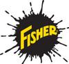 "41812-1 - FISHER - XV2 (XTREME V 2) RUBBER DEFLECTOR KIT 10"" & 7 1/2' - 1/2 TON EZ V COMPACT WITH FISHER SPLATTER LOGO"