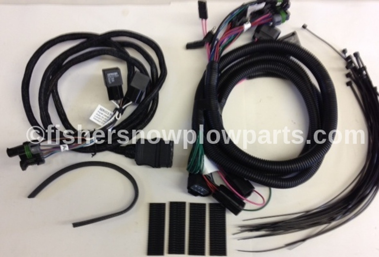 69818 FISHER - WESTERN - BLIZZARD - SNOWEX PLUG-IN HARNESS KIT HB3 on