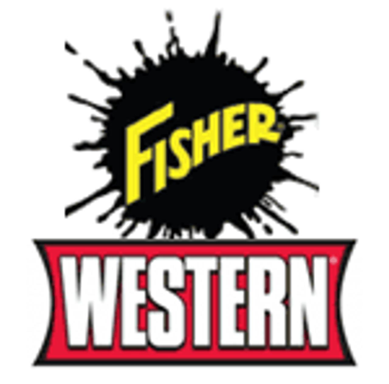 "28043 FISHER - WESTERN - SNOWEX  3/8-16X1-1/4 HX CS G5 W/HNDL *BLUE* 7"" STRAIGHT HANDLE"